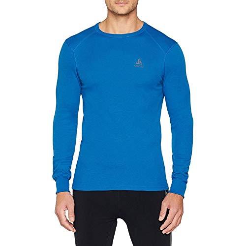 T-Shirt Manches Longues Odlo - Nikko Dry - Taille XL - Bleu - Homme