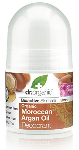 Dr. Organic Deodorant Roll-On Maroccan Arganolie 50 ml, prijs / 100 ml: 13,98 EUR