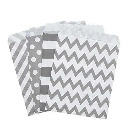 24*13*8cm große Größe 48 Papiertüten klein Geschenktüten Kindergeburtstag Mitgebsel Tüten 48...