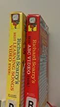 2 Volumes of Richard Scarry's Video Series: BEST ABC VIDEO EVER! & BEST LEARNING SONGS VIDEO EVERY!