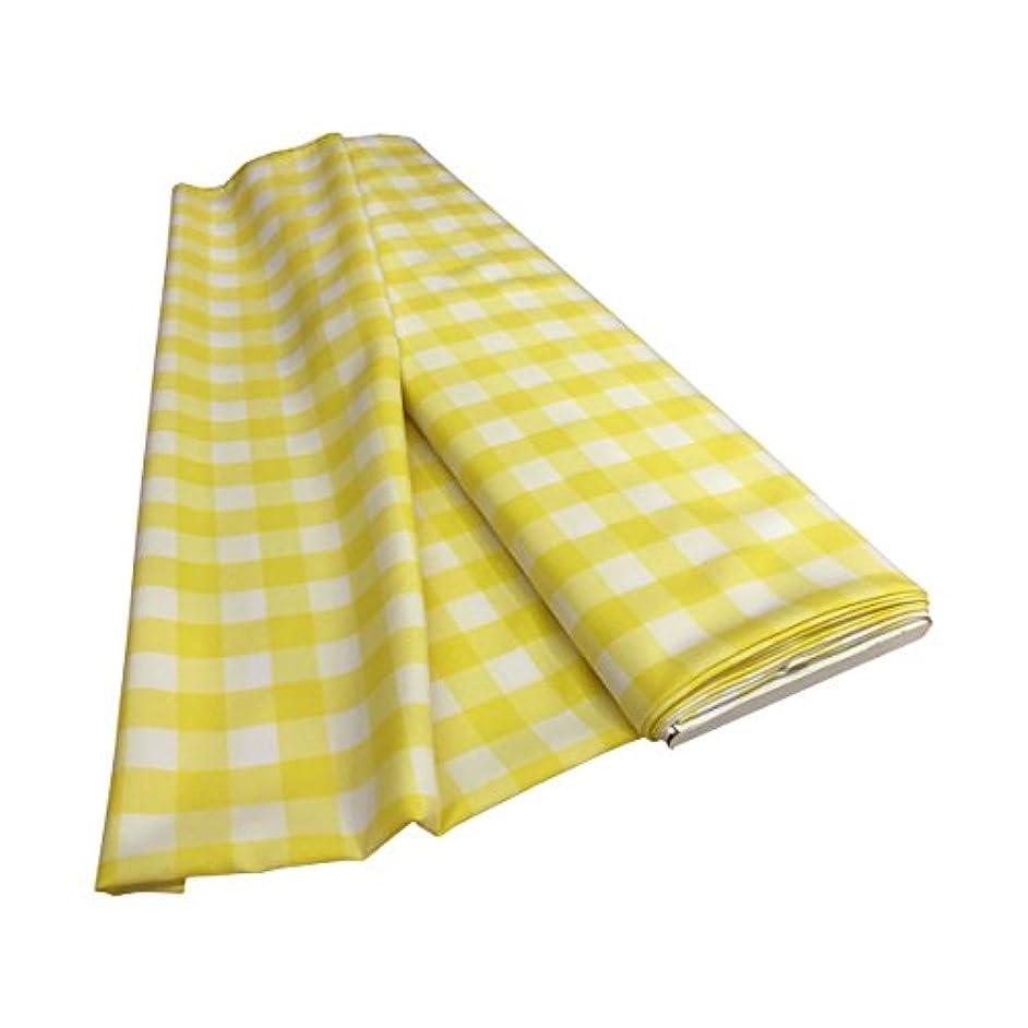 LA Linen Yarn Dyed Flat Fold Checkered Poplin Gingham Bolt of Fabric, 1