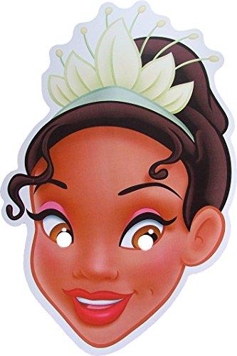 Disney Princesse Tiana - Masque de Visage Fait en Carte Rigide - Produit Disney Officiel