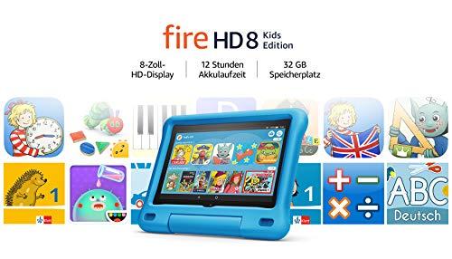 Amazon Fire HD 8 – Kinder-Tablet – Kids Edition (2020) – 8 Zoll, 32 GB - 18