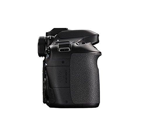 Canon EOS 80D Digital SLR Camera Body (Black) (International Model) No Warranty