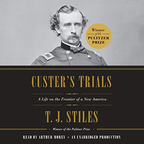 Custer's Trials audiobook cover art