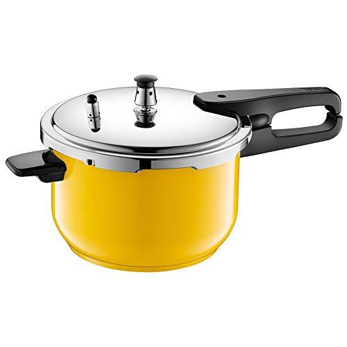 YFGQBCP Robot Cocina De Gran Capacidad de 304 Acero Inoxidable Olla de presión, Hogar Cocina de Gas Universal Olla de presión, de Grado alimenticio Anillo de Sello de Silicona (Size : A)