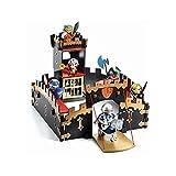 Djeco- Arty Toys Ze Black Castel Muñecas y Figuras (36749)