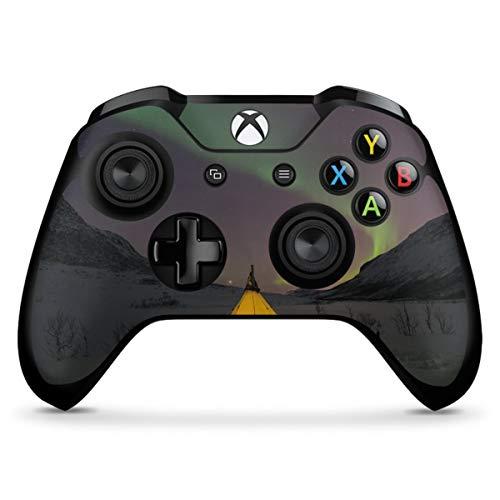 DeinDesign Skin kompatibel mit Microsoft Xbox One X Controller Aufkleber Folie Sticker Heimat Zelten Natur