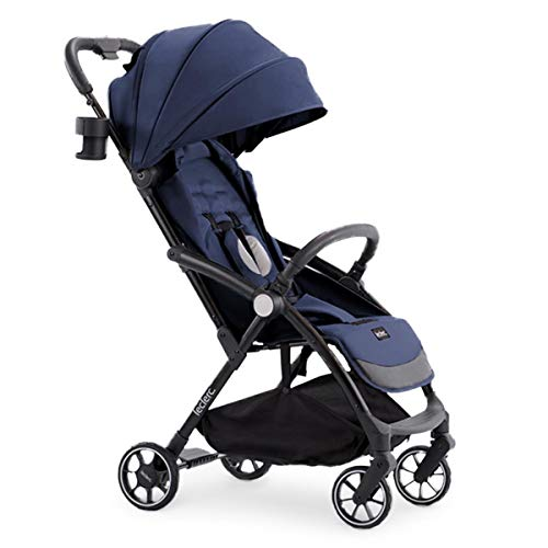 Leclerc Baby - Silla de Paseo de bebé Magic Fold Plus Azul - Carros de bebé plegables, ligeros y elegantes