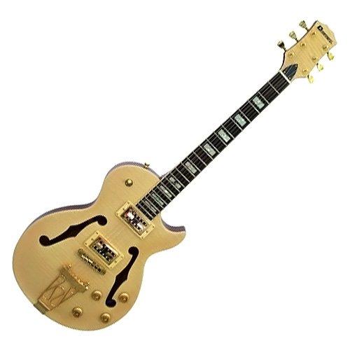 Dimavery LP-059 241 600 de la guitarra eléctrica de arce