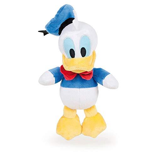 Famosa Softies - 7'87'/20cm Peluche Mickey Minnie Donald Pluto - qualità Super Soft (Donald(Paperino))