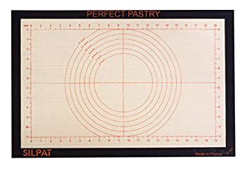 Silpat Perfect Pastry Non-Stick Silicone Countertop Workstation Mat 15-1/8  x 23