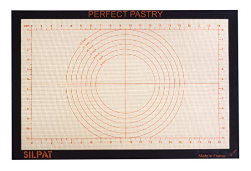 Our #7 Pick is the Silpat Perfect Pastry Silicone Pastry Mat