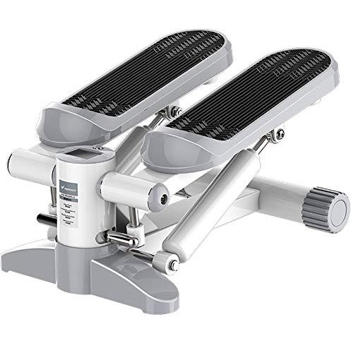 LYzpf draagbare stepper met trekkoord fitness trap mini cardiotrainingsapparaat fitnessapparaten stapppers machines voor workout op kantoor thuis