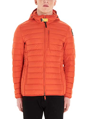 Luxury Fashion | Parajumpers Heren PMJCKSL02515 Oranje Polyester Outerwear Jassen | Lente-zomer 20