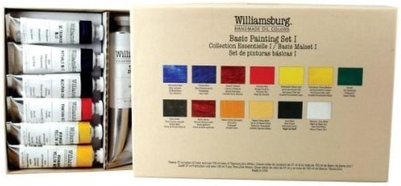 Williamsburg Basic Painting Set 1  13 color Set by Williamsburg