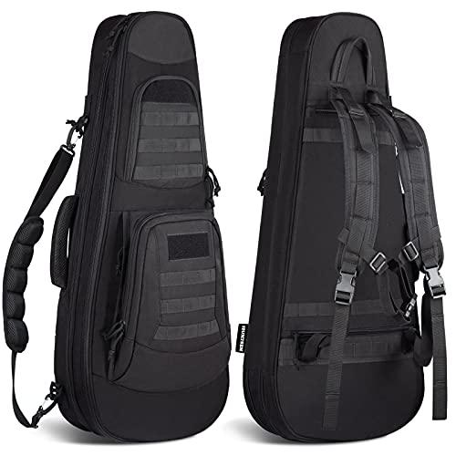 HUNTSEN Tactical Rifle Bag Backpack 32' Padded Gun Bag Soft...