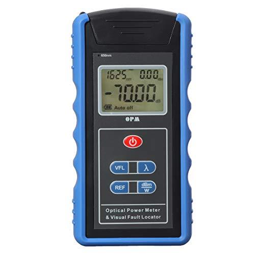 ZHFENG TM203N 650nm 0.01dbm Optic Power Compteur de lumière rouge FC SC Adaptateur Source LCD Testeur Détecteur Outil de mesure