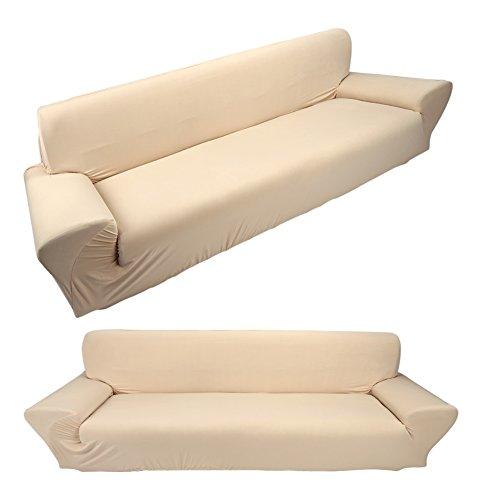 Nicoone Funda de sofá elástica de una pieza, protector de muebles, tela supersuave, para mascotas y perros, extraíble y lavable