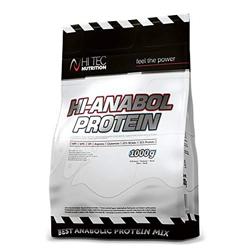 HI TEC HI-ANABOL Protein 1000g | Rich in BCAA Protein Powder | Anabolic Food Nutrition Shake | WPC WPI SPI (Chocolate)