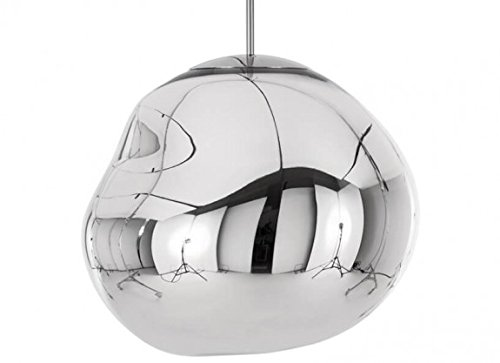 Tom Dixon - Pendelleuchte, Lampe, Leuchte - Melt - Chrom Silber - Ø50cm