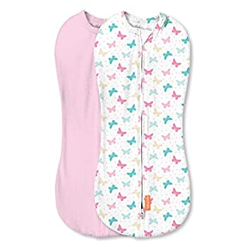 SwaddleMe Pod - Newborn Girl 2 Pack Free to Fly 0-2 Months