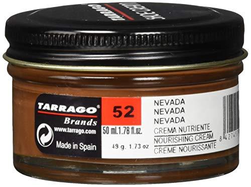 Tarrago Schuhcreme, Unisex, für Erwachsene, Tiegel mit 50ml, braun - Brown (Nevada 52) - Größe: 30 EU Kind