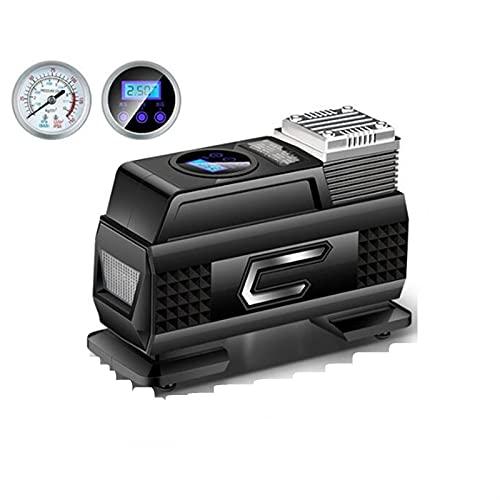 Lixiaonmkop Vehículo Bomba de aire Coche Hogar inalámbrico Portátil USB Presión de neumáticos Medición Inflador Bomba de aire Compresor de Aire (Color Name : Wired)