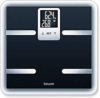 Beurer BG40 - Báscula de baño diagnóstica de vidrio, pantalla LCD en 2 líneas, color negro (B003ZDYL1S) | Amazon price tracker / tracking, Amazon price history charts, Amazon price watches, Amazon price drop alerts
