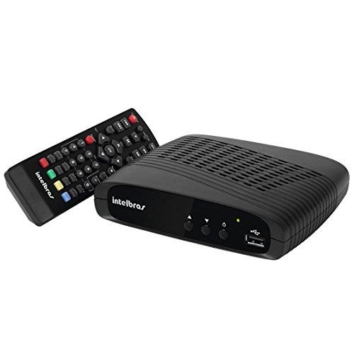 INTELBRAS Conversor Digital de TV com Gravador de DVD, Preto
