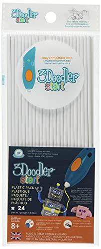 3 Doodler 3DS-ECO01-WHITE-24 62113 Start Plastic Packs, weiß