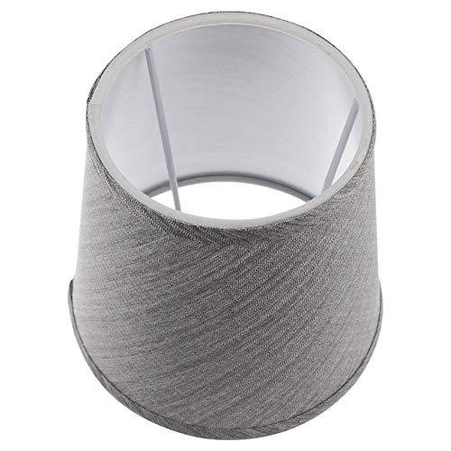 PIXNOR Pantalla de Lámpara Pequeña Cubierta de Lámpara de Tela Cubierta de Polvo Accesorio de Lámpara de Tela para Lámpara de Pared de Mesa Luz de Suelo