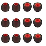 BLLQ 12PCS Replacement Ear Tips Earbuds Eartips Eargels Earpads Silicone Buds...