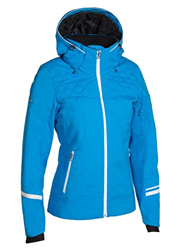 Phenix Damen Diamond Dust Jacket Skijacke, Blue, 38
