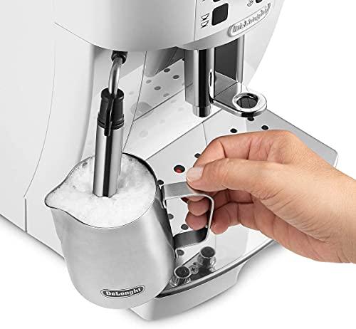 De'Longhi ECAM21.110.W Magnifica S Macchina da caffè Automatica, 1450 W, 1.8 Litri, Plastica, Bianco