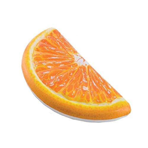 aufblasbarer - Orange - aufblasbare Badeartikel - Matratze