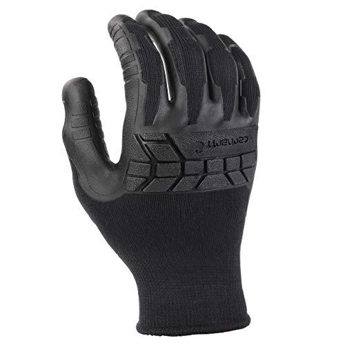 Carhartt Mens Knuckler C-Grip Glove,Black,Medium