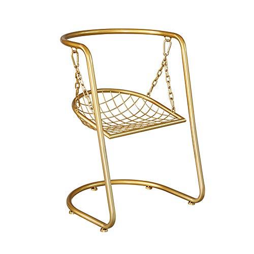 GXYAS - Tumbona doméstica, silla de salón con patas de metal, sillas de cocina, sillón, silla de salón, sillas para el tiempo libre, silla de madera maciza, silla con bañera,
