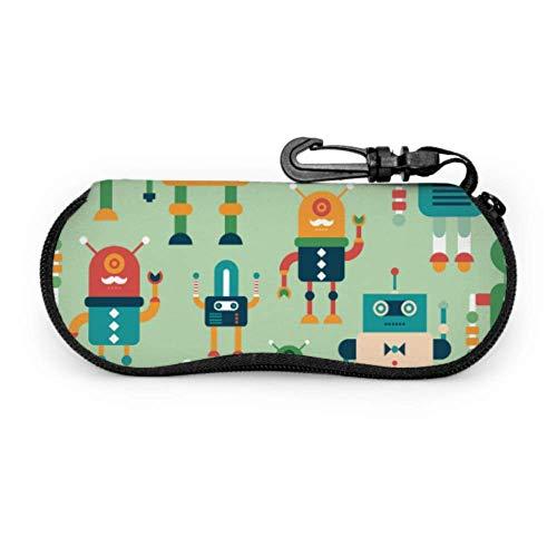 t Fantasy Scient Style Sunglass Case Soft Child Glasses Case Light Portable Zipper Soft Case Eyeglass Cases for Teens