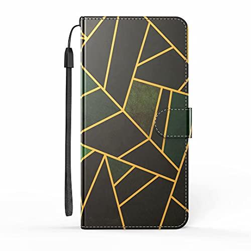 Funda para Samsung Galaxy A71 4G, funda para teléfono Samsung A71 4G, de mármol, a prueba de golpes, de piel, con tarjetero, protector de silicona para Samsung Galaxy A71 4G