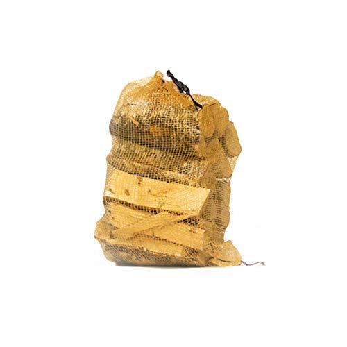 Silberne Birke ofengetrocknetes Hartholzscheite 30 l Netz – 18 % Feuchtigkeit – perfektes Brennholz für Holzbrenner, Holzöfen, offene Feuer, Pizzaöfen, Kamin, Lagerfeuer
