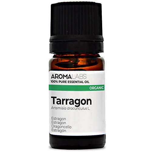 DRAGONCELLO BIO - 5mL - Olio essenziale BIO e Naturale al 100% - qualità verificata mediante cromatografia - Aroma Labs