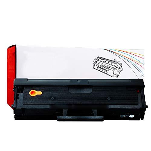 RRWW [con Chip] MLT-104S Cartucho De Tóner Uso De Reemplazo para Samsung ML-1666 1661 1660 1676 1861 SCX-3210 3218 3206 Impresora, 1500 Páginas por Cartucho De Tóner Negr 1 Black