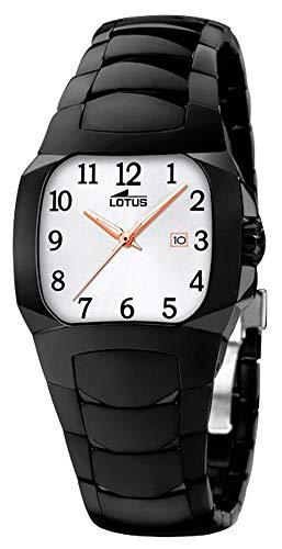 Lotus Watches Reloj para Mujer Analógico de Cuarzo con Brazalete de Acero Inoxidable 15513/M