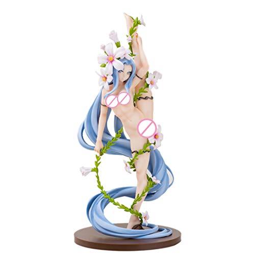 Bxwin Anime Figur, Teakpeak Garage Kit Figure Anime Girl Figur unbewegliche Sammelfiguren Anime PVC Figur Anime Figur Statue Mit Sockel -30cm, Göttin der Gymnastik (Keine Geschenkbox)