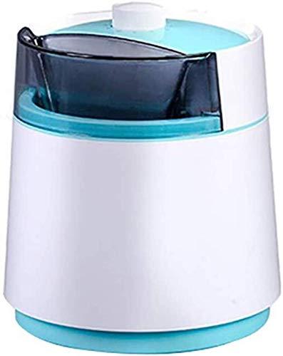 Mini-Eismaschine, doppelt isolierende Eismaschine Maschine 800 ml große Kapazität Antihaftbeschichtung Rostfrei, leicht zu reinigen, geeignet für zu Hause