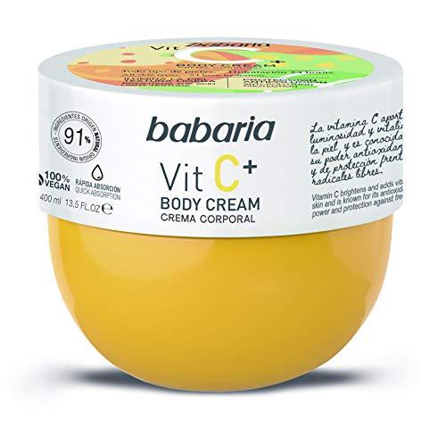 Babaria Crema Corporal Hidratante Vitamina C 400ml
