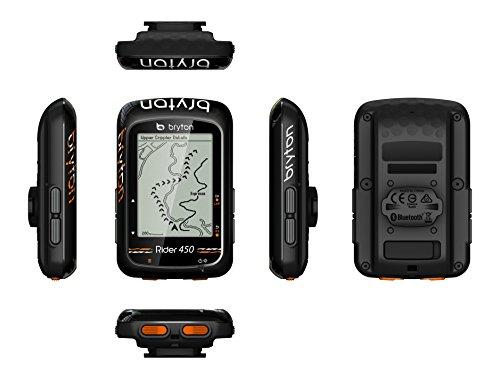 Bryton Rider 450E GPS Cyclisme, Noir, 2.3'