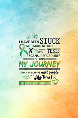 My Journey I Am A Metastatic Breast Cancer Warrior Vitamin & Supplements Tracker: 6 x 9 inches size and 114 pages