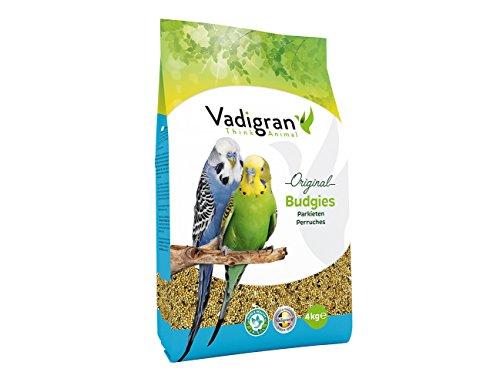 VADIGRAN Budgies, 1er Pack (1 x 4 kg)